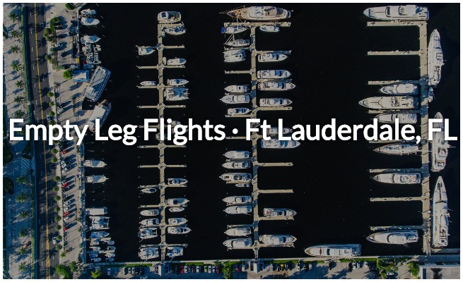 empty leg deals in fort lauderdale