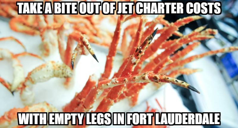 find empty legs in fort lauderdale